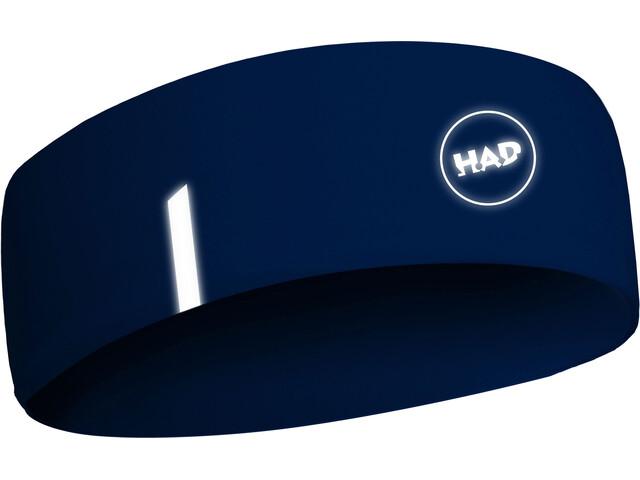 HAD Printed Fleece HADband Otsanauha, blue reflective 3m